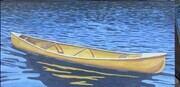 Adrift, the Yellow Canoe