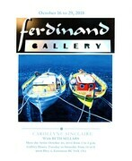 Ferdinand Gallery October 26 to 29, 2018