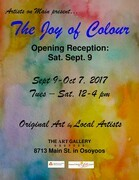 The Joy of Colour Show and Sale